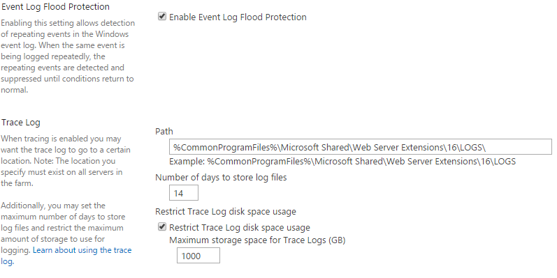 IIS & SharePoint logs maintenance – WEBCON BPS Knowledge Base